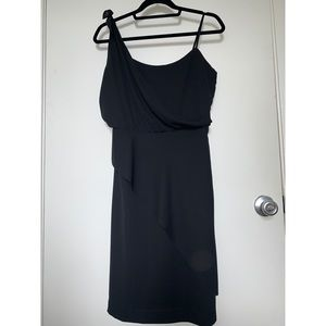 BLACK NEW BANANA REPUBLIC STRAP DRESS